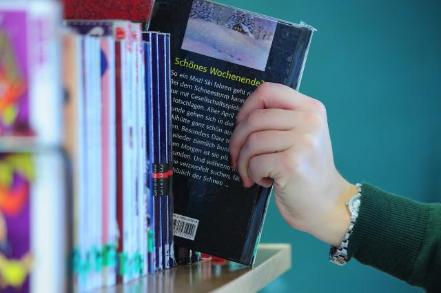 Lerninsel Schulbücherei